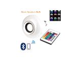 İnfoled Led Bluetooth Music Bulb Akıllı Hoparlör Led Işıklı Uzaktan Kumandalı ( Müzikli Lamba E27 RGB )