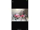 Pembe renkte kız çocuk bisiklet