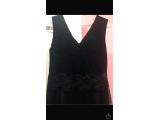 Uzun siyah abiye elbise